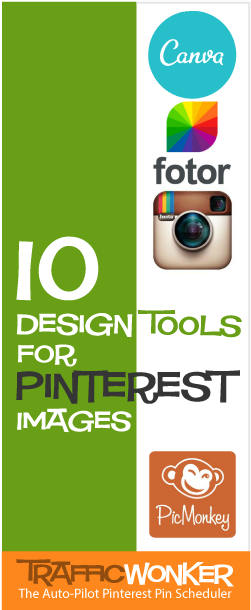Want easy to use tools that make designing pinterest pins ridiculously simple click for  list of these and more design also pin content ideas rh in