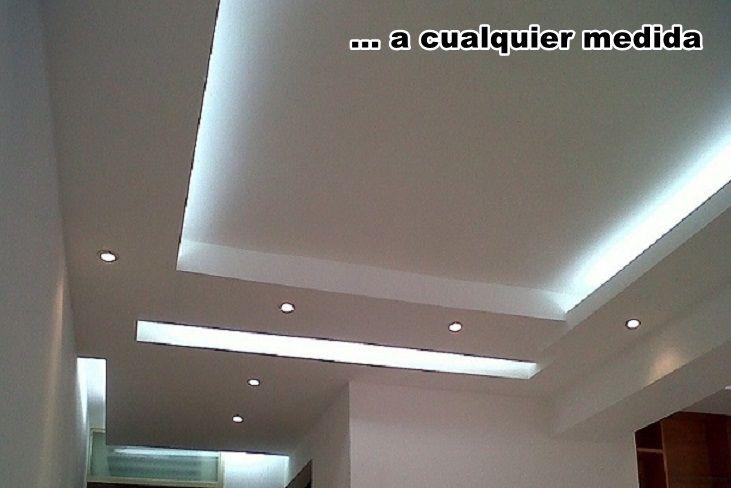 Pin en plafones - Luz indirecta escayola ...