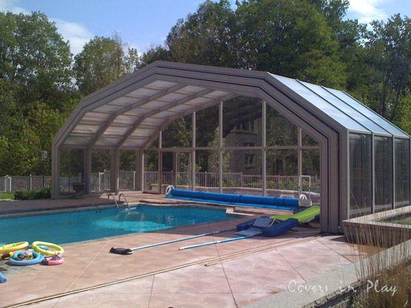 Pool Enclosure Open To Enjoy Outdoor | Pool enclosures ...