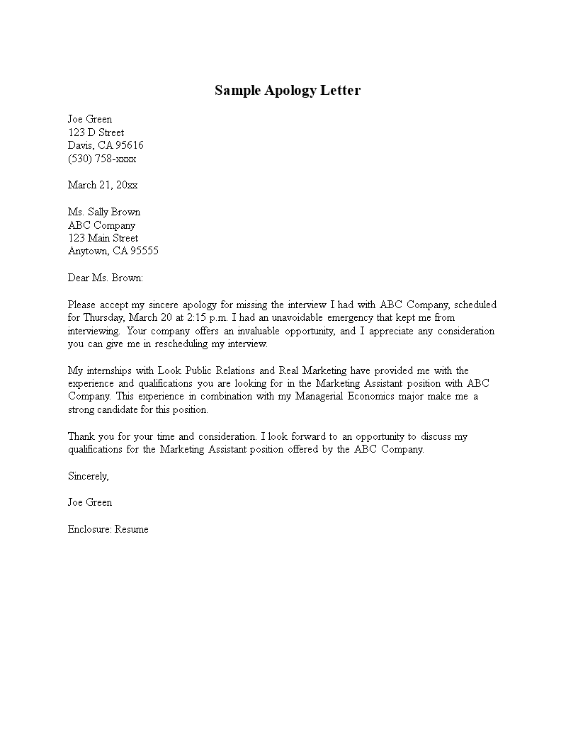 formal apology letter to client  how to write a formal