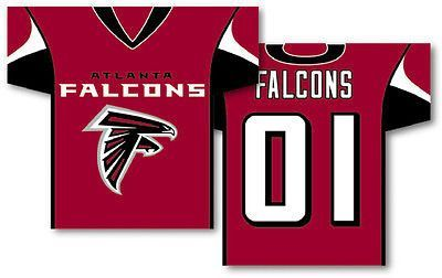 "Atlanta Falcons Banner 34"" x 30"" - 2-Sided"