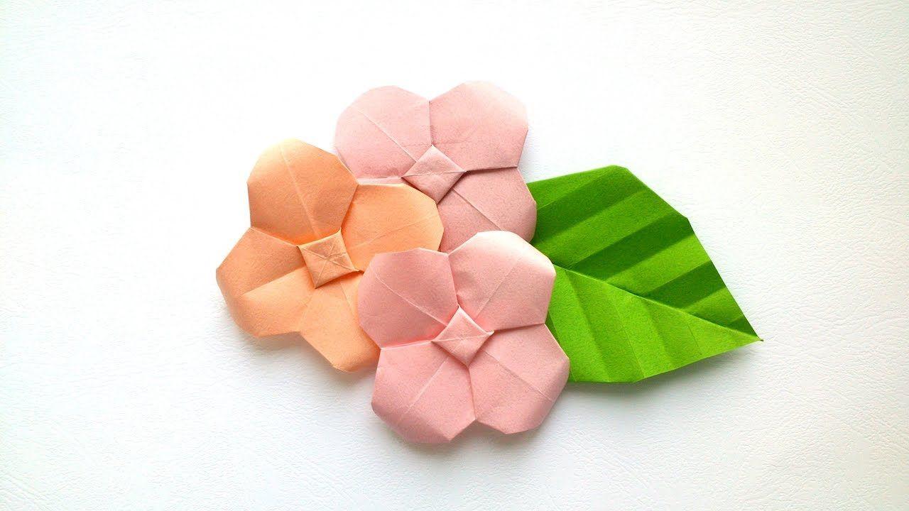 How to make origami hydrangea origami flowers paper flower how to make origami hydrangea origami flowers mightylinksfo
