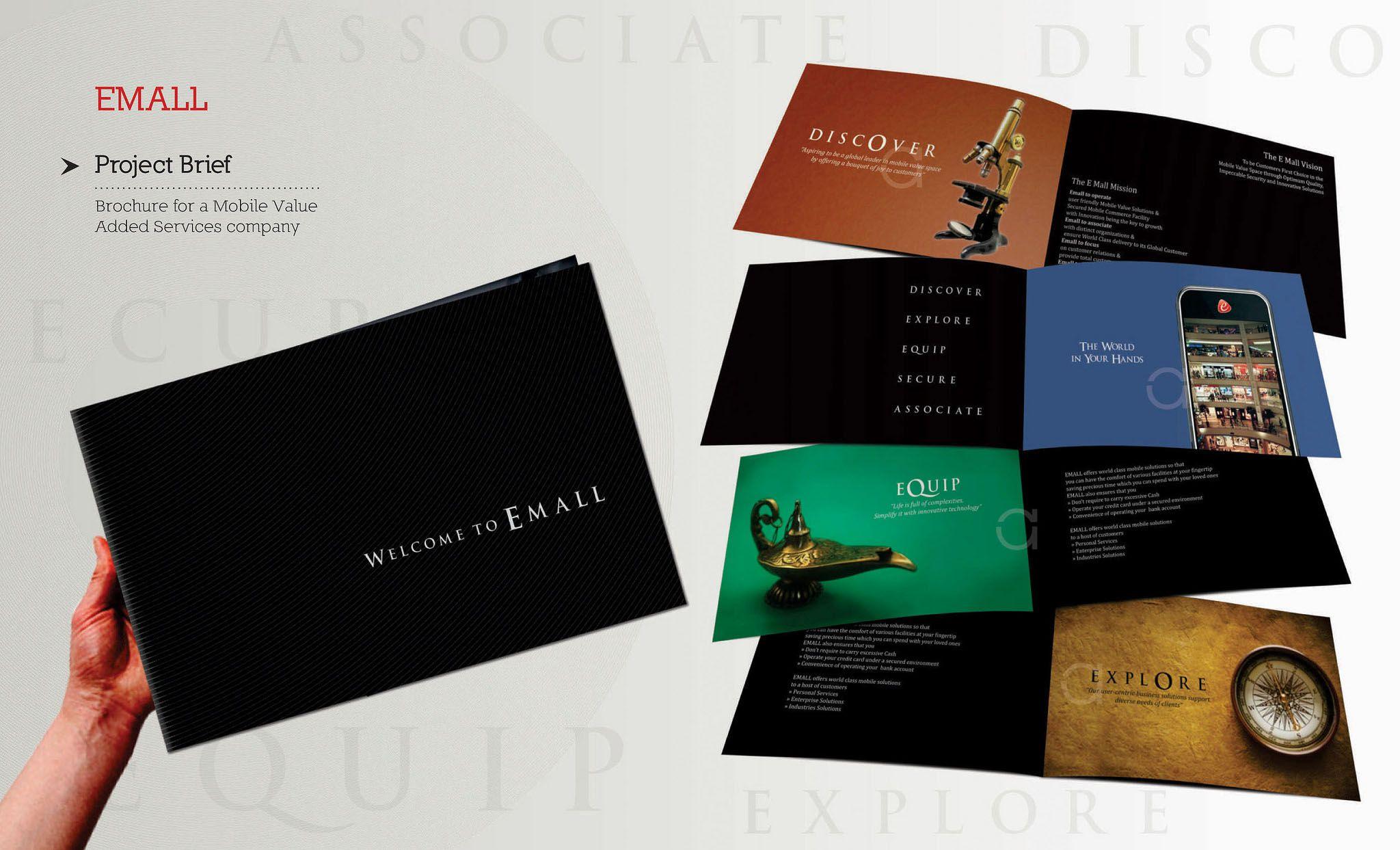 Corporate Brochure Design Ideas  Sztuka    Brochures