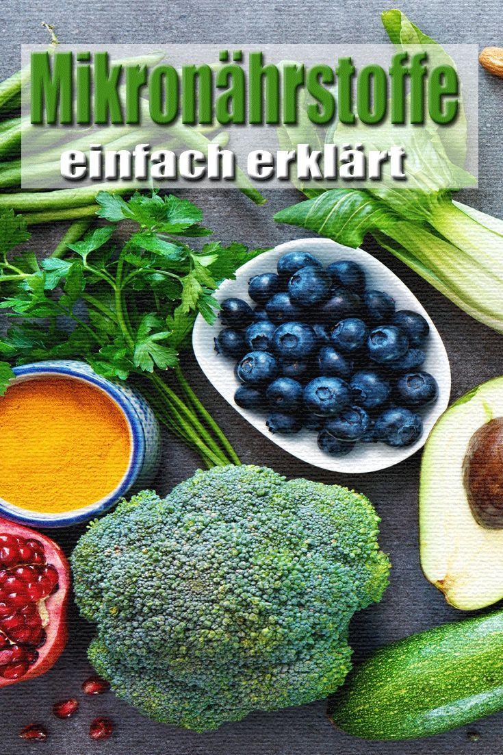 Vitamine, Mineralien und Spurenelemente: Mikronährstoffe einfach erklärt