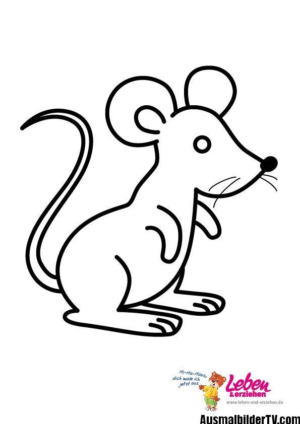Ausmalbilder Maus Ausmalbilder Ausmalen Malvorlagen