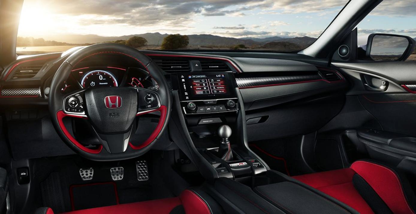 2018 Type R Interior Honda Civic Honda Civic Si Honda