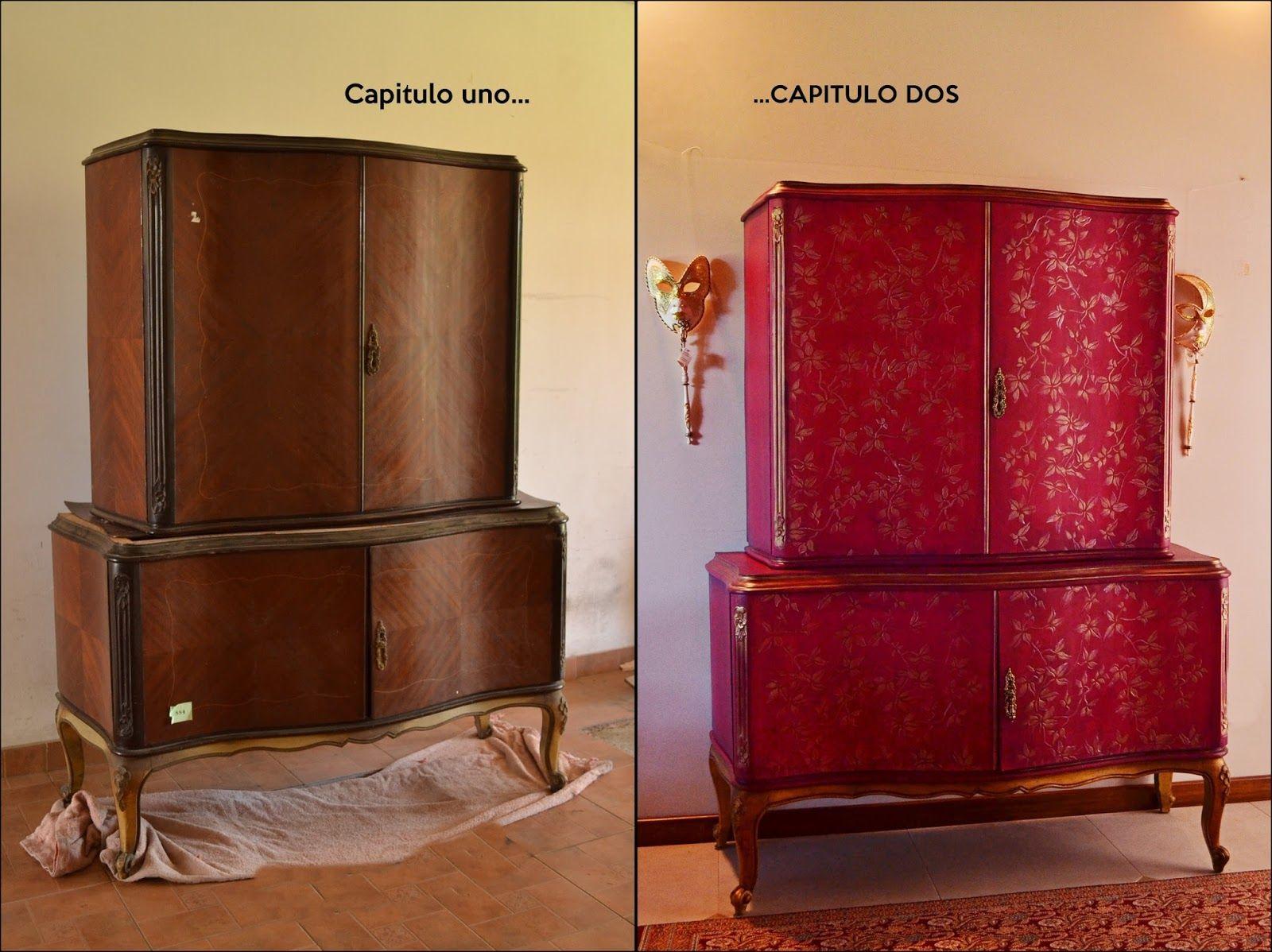 Capitulo Dos Muebles Intervenidos Muebles Tuneados Pinterest  # Muebles Tuneados