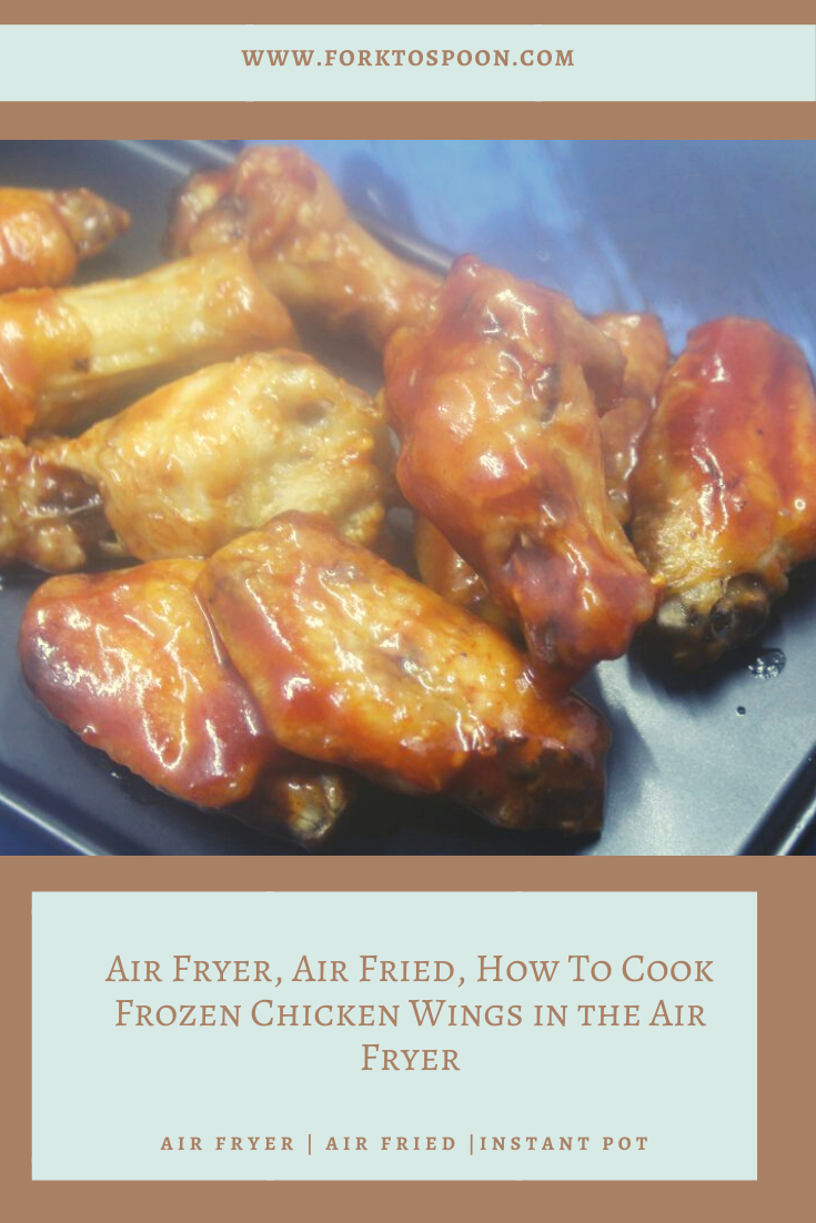 Air Fryer, Air Fried, How To Cook Frozen Chicken Wings in