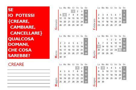 calendari italiani da stampare