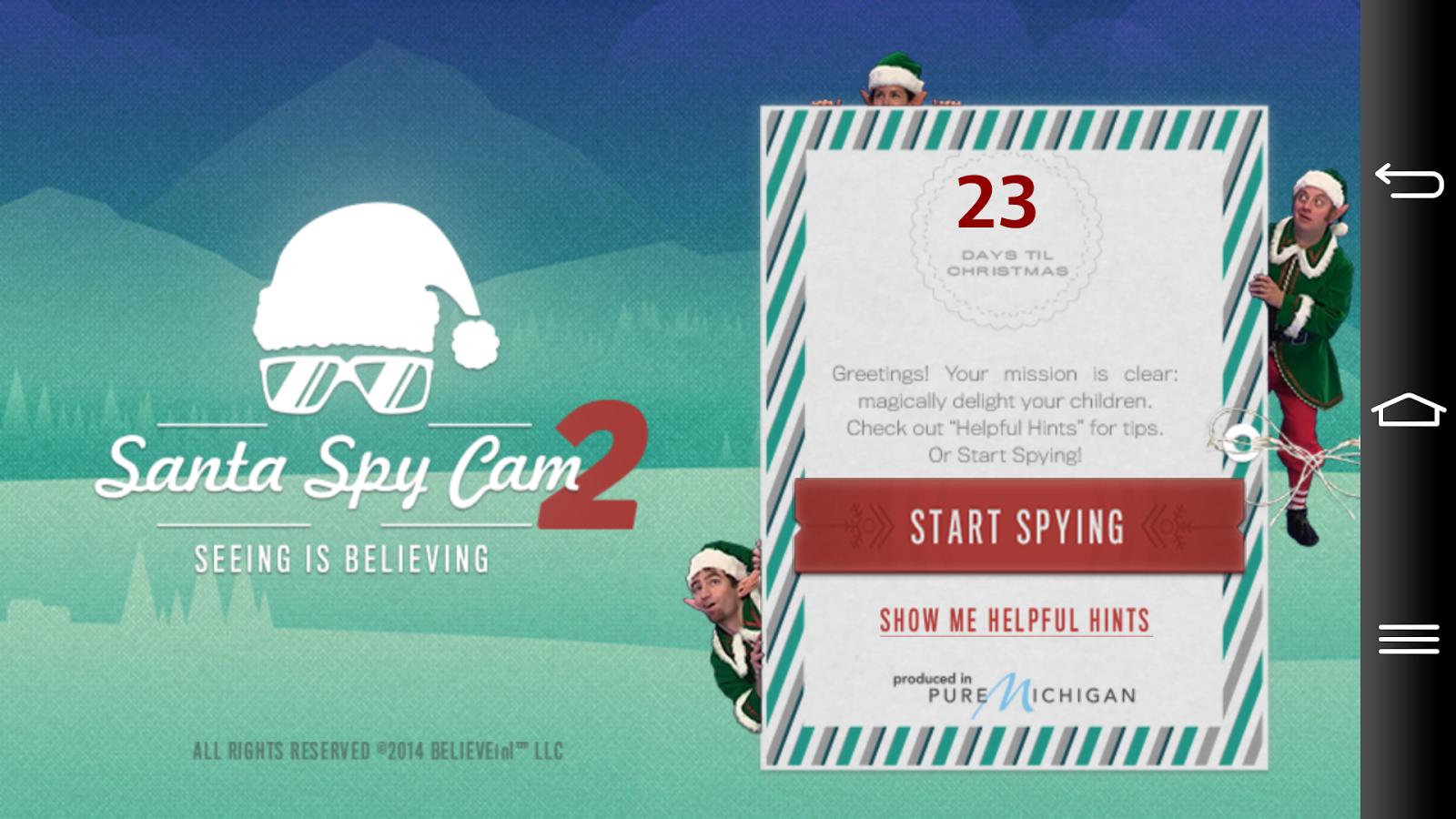 santa spy cam app android