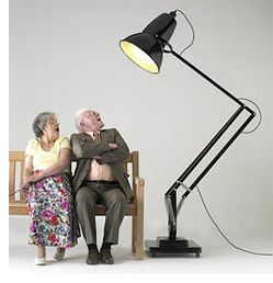 Giant Anglepoise Lamp For Big Desks Or Scaring Old People