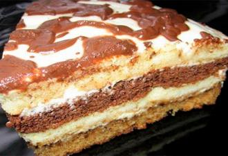 Отличный пирог к чаю за 5 минут. Все смешал и поставил в духовку! - Рукодельные идеи #napoleonkuchenrussisch