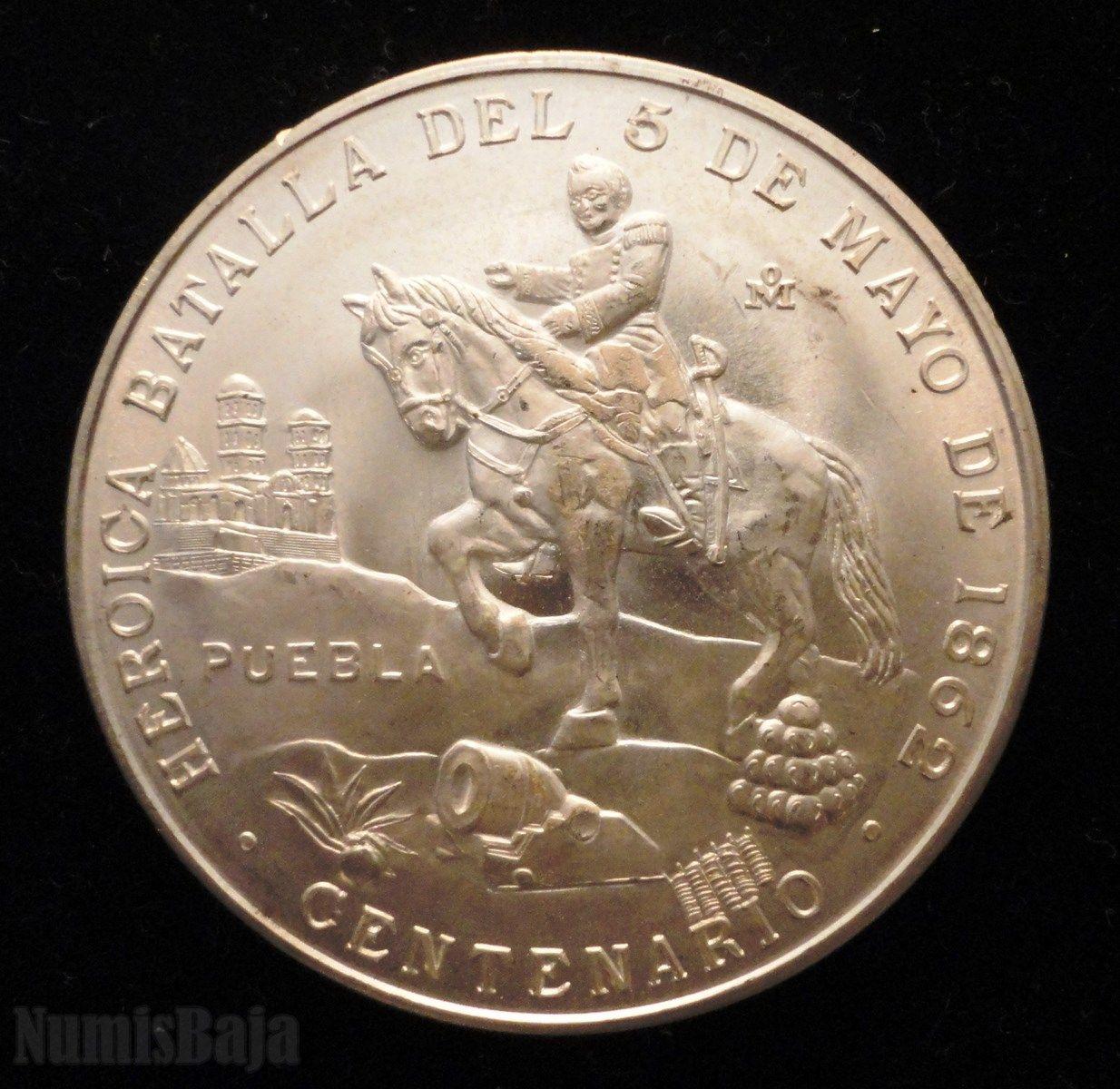 Medalla De Plata Conmemorativa Del Centenario De La Heroica