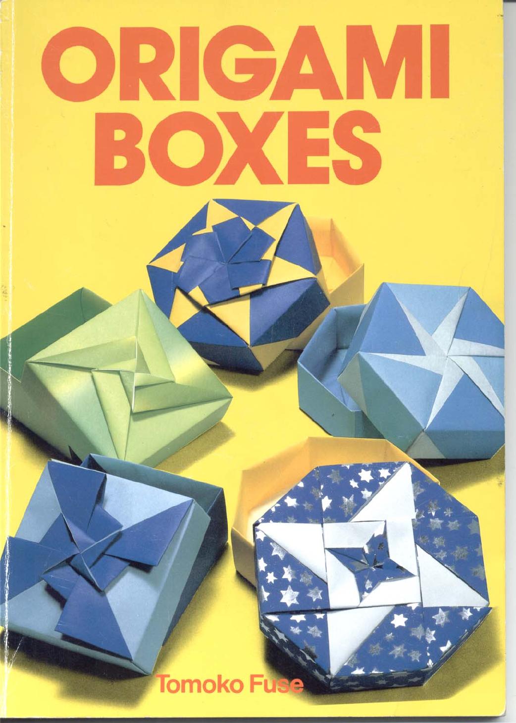 Caixas de Origami (Tomoko Fuse) - Documentos