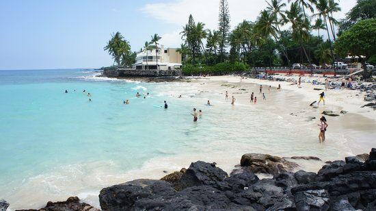 Magic Sands Kailua Kona Island Hawaii Beach