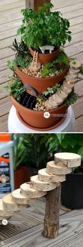 Over 15 Fairy Garden Ideas for Kids in the Garden Over 15 Fairy Garden Ideas for Kids in the Garden