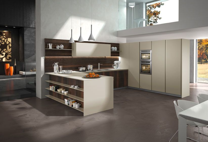 CUCINA COMPONIBILE IN LEGNO WAY BY SNAIDERO | Decor ideas ...