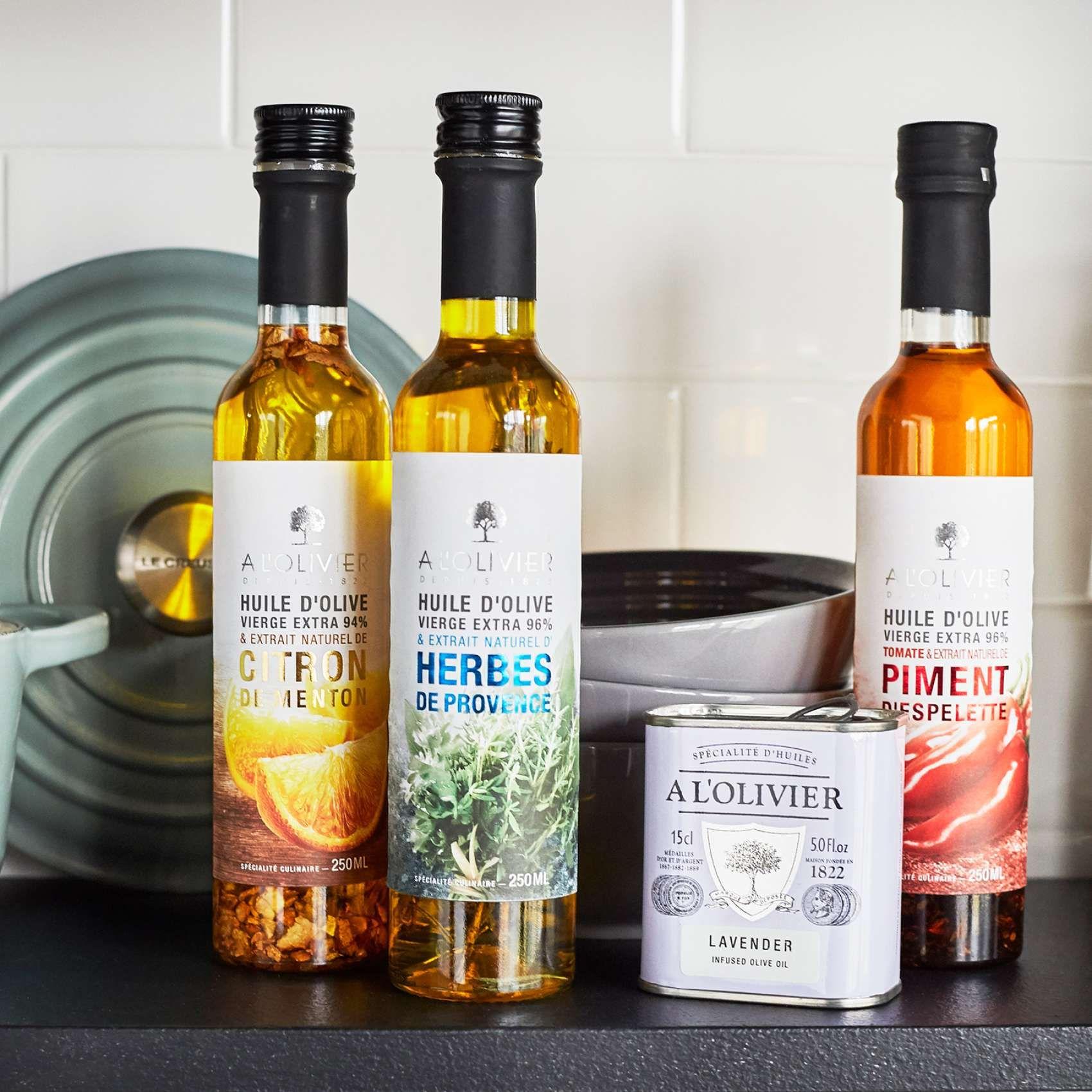 A L Olivier Espelette Pepper Extra Virgin Olive Oil 8 5 Oz Food