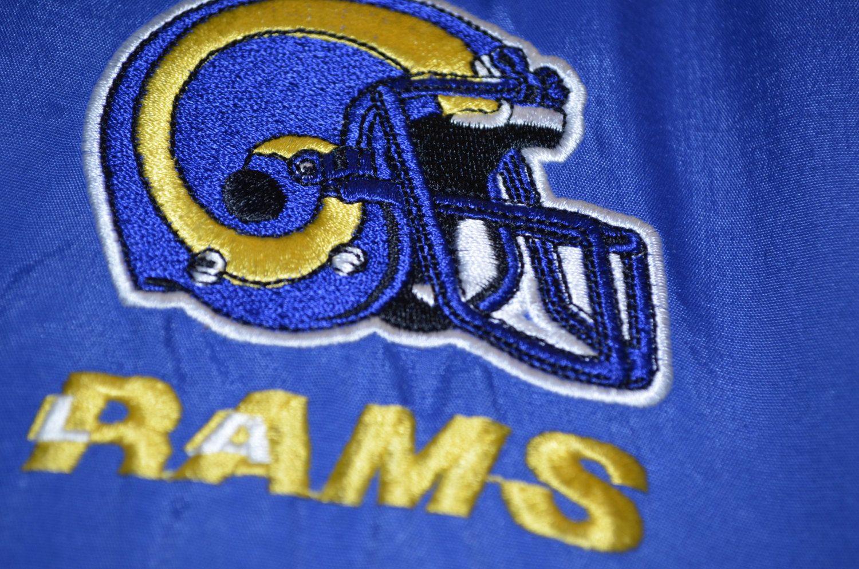 Starter Jacket Vintage Los Angeles Rams Starter Jacket Nfl Etsy Los Angeles Rams Vintage Los Angeles Rams Football