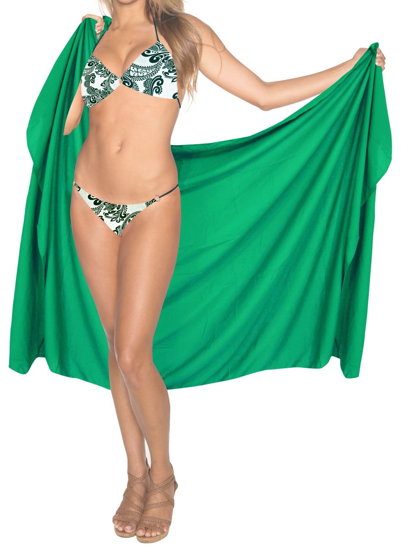 0f33766629 Sarong Wrap Beachwear Bathing Suit Swimwear Swimsuit Cover ups Pareo Skirt  Women Bathing