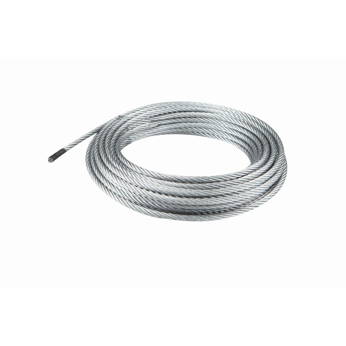 50 Ft X 1 4 In Aircraft Grade Wire Rope In 2020 Rope Wire Galvanized