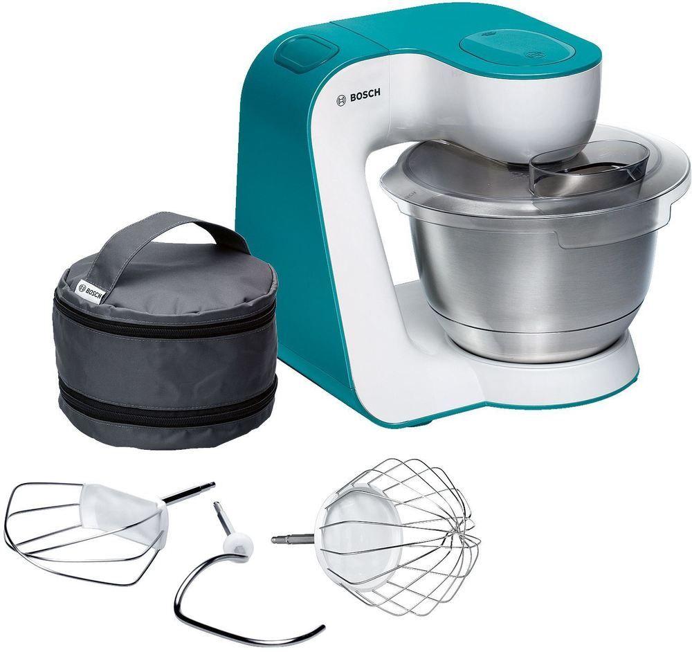 Bosch Startline Kitchen Machine Mum Food Mixer Blue 900w 3 9l Bosch Best Kitchen Applian Food Processor Recipes Bosch Kitchen Machine Cool Things To Buy
