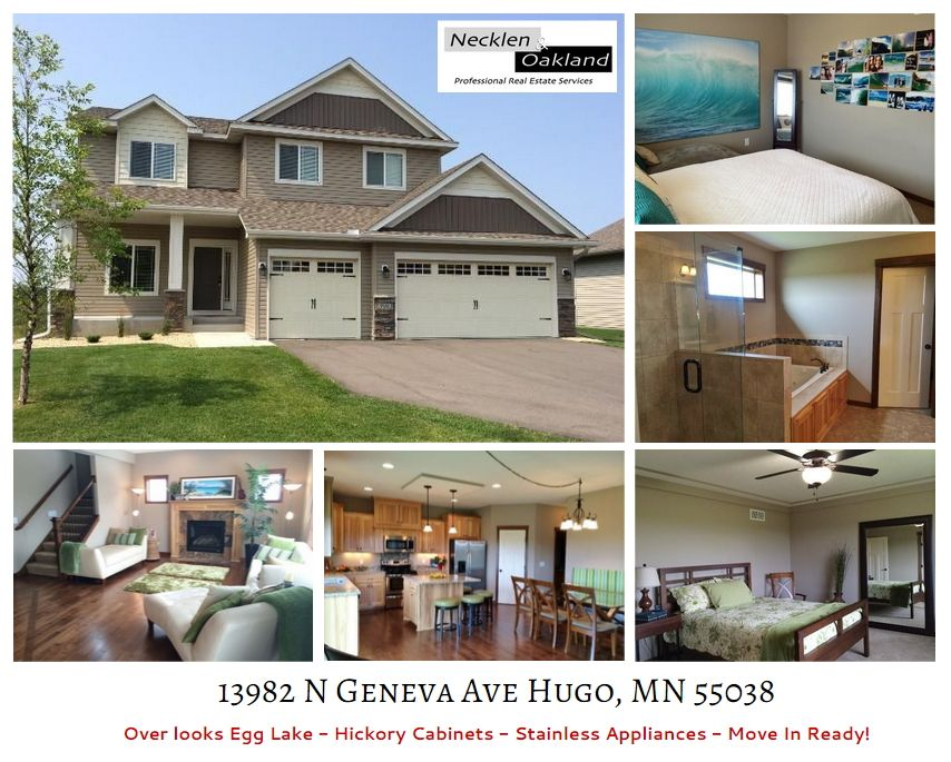 Just Listed! Beautiful setting for this former model home