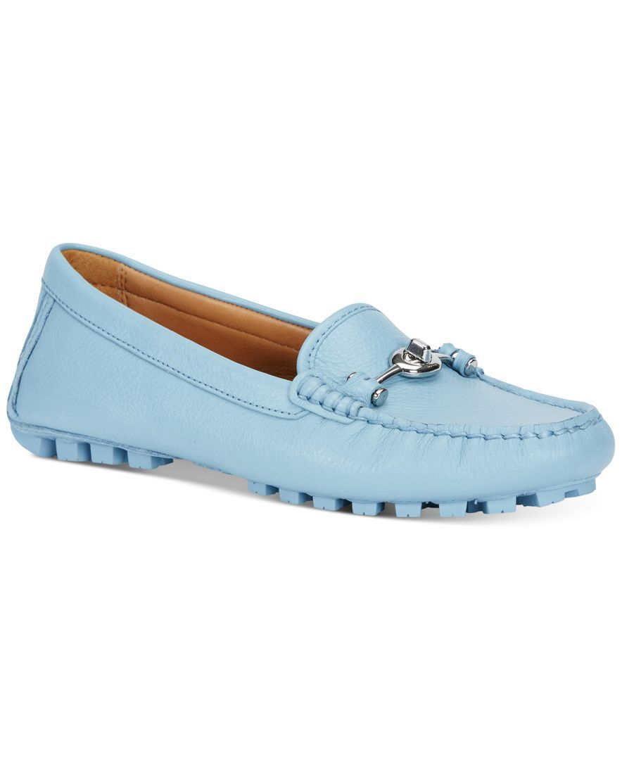 dbfa41b8b98d Coach Arlene Turnlock Mocs Soft Leather, Leather Design, Flats, Moccasins,  Jewelry,