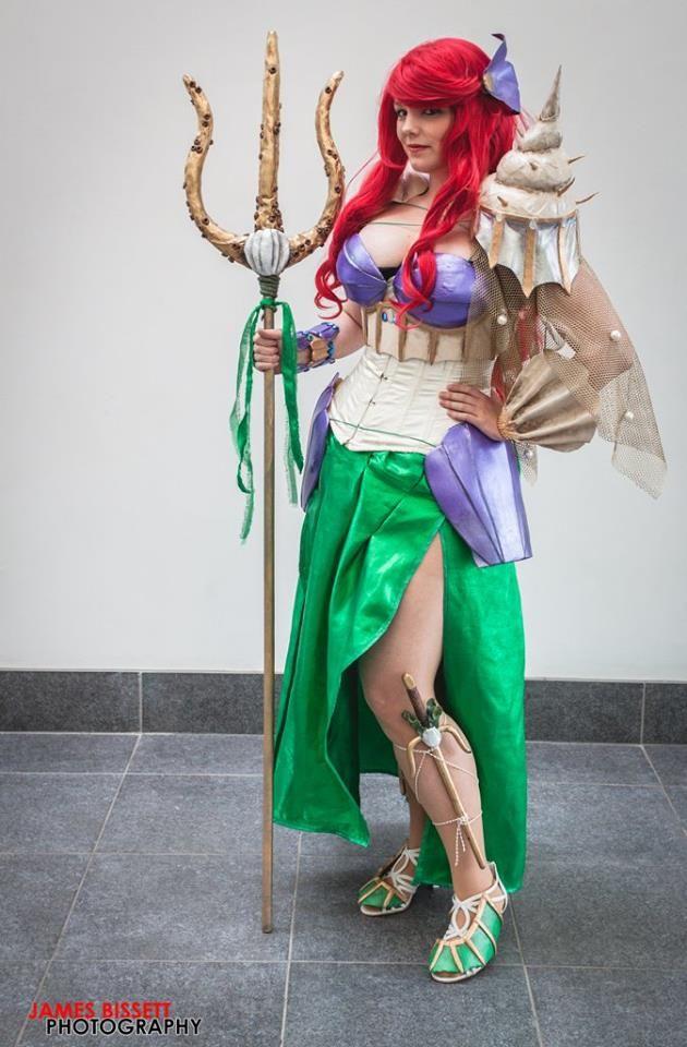 Armored Ariel / Warrior Ariel Cosplay. The little mermaid disney. By Dewnor Cosplay  sc 1 st  Pinterest & Armored Ariel / Warrior Ariel Cosplay. The little mermaid disney ...
