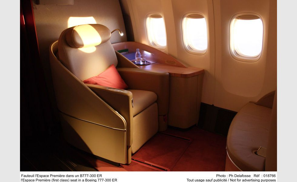 La Premiere La Premiere First Class Seat Www Airfrance Com