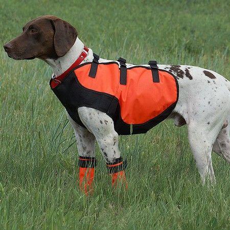 Browning Full Coverage Dog Safety Vest Orange Large