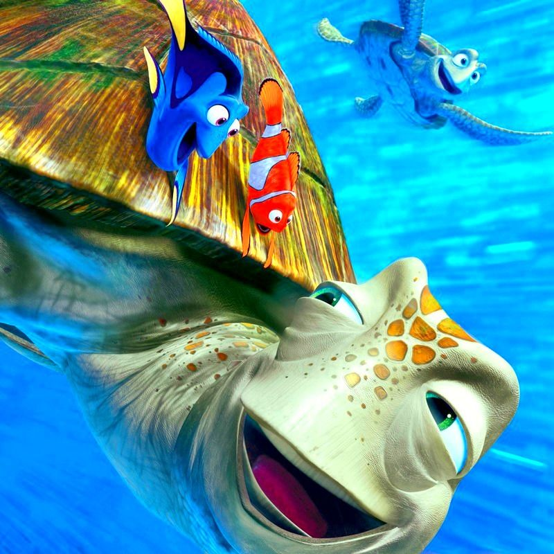 Day 24: favorite parent. Marlin from Finding Nemo:)