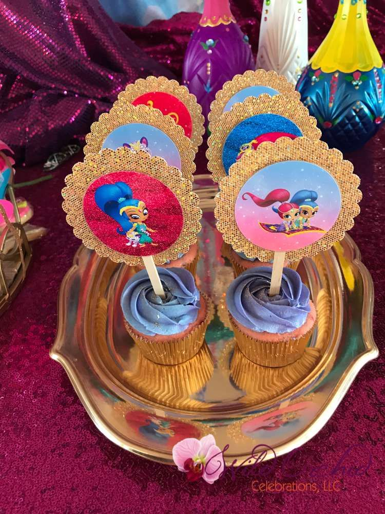 Shimmer And Shine Birthday Party Ideas In 2019 Shimmer And Shine
