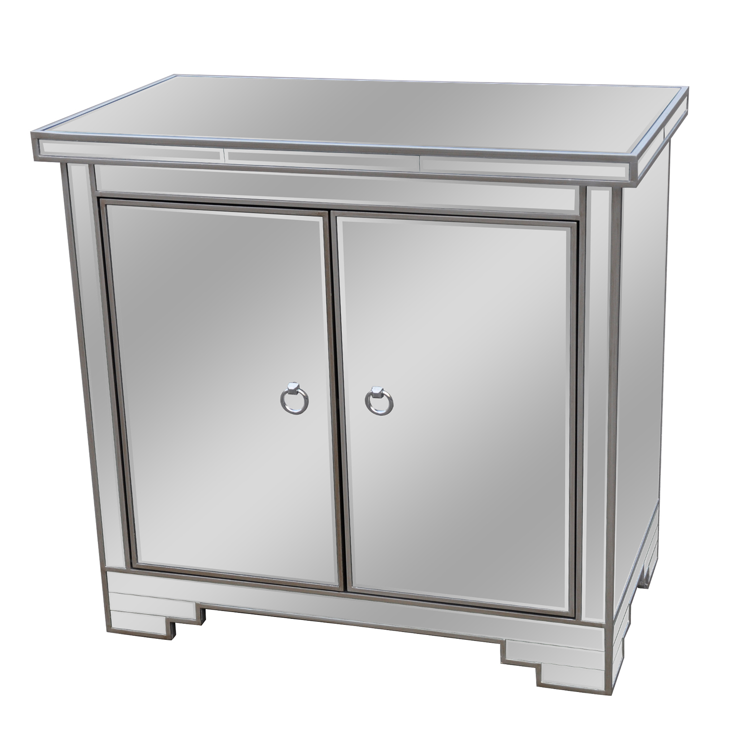 Haley Two Door Mirrored Chest | Crestview Collection | Home Gallery Stores  sc 1 st  Pinterest & Haley Two Door Mirrored Chest | Crestview Collection | Home Gallery ...