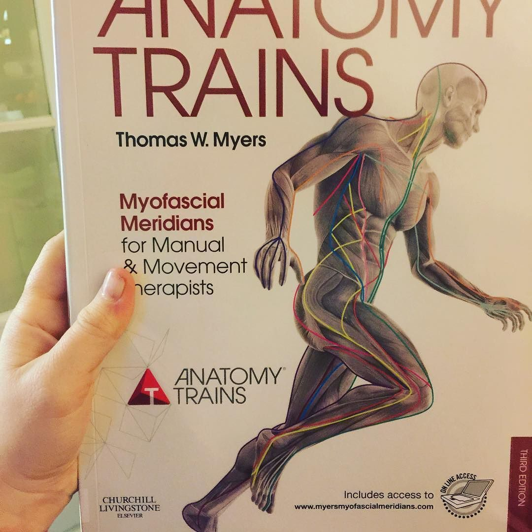 So exited to get stuck into this #book #fascia #thomasmyers ...
