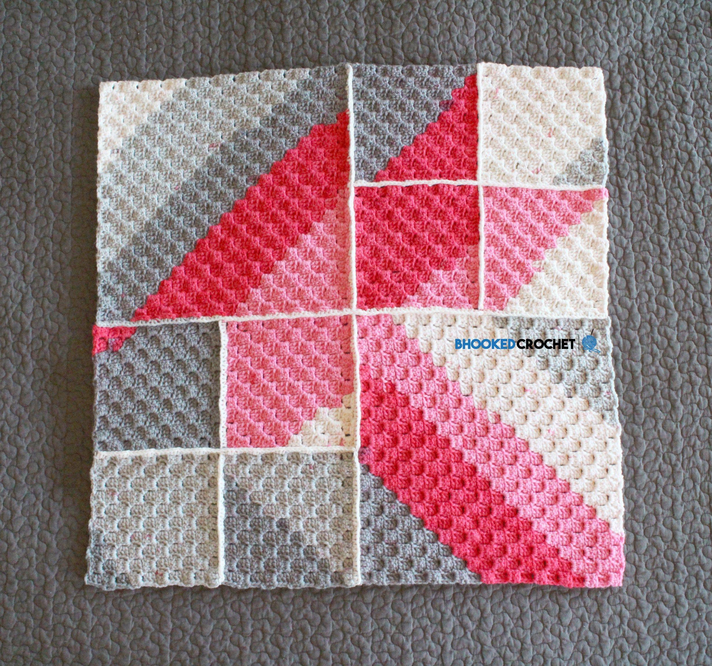 Pop geometric baby blanket free crochet pattern using self pop geometric baby blanket free crochet pattern using self striping yarn dt1010fo