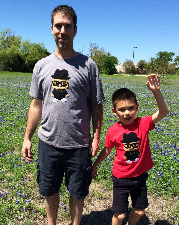 85ecc33475c2d Rad Rapper - Tall Hat Man's Adult & Toddler T-Shirts Combo by ...
