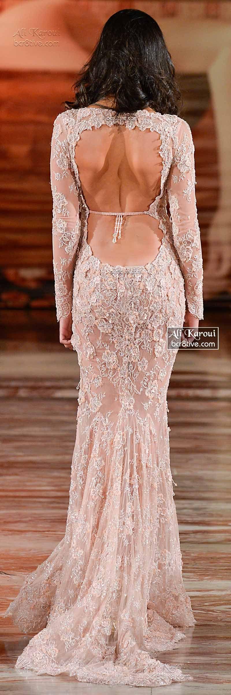 Ali Karoui Fall 2014 Couture | Vestiditos, Vestidos de novia y Novios