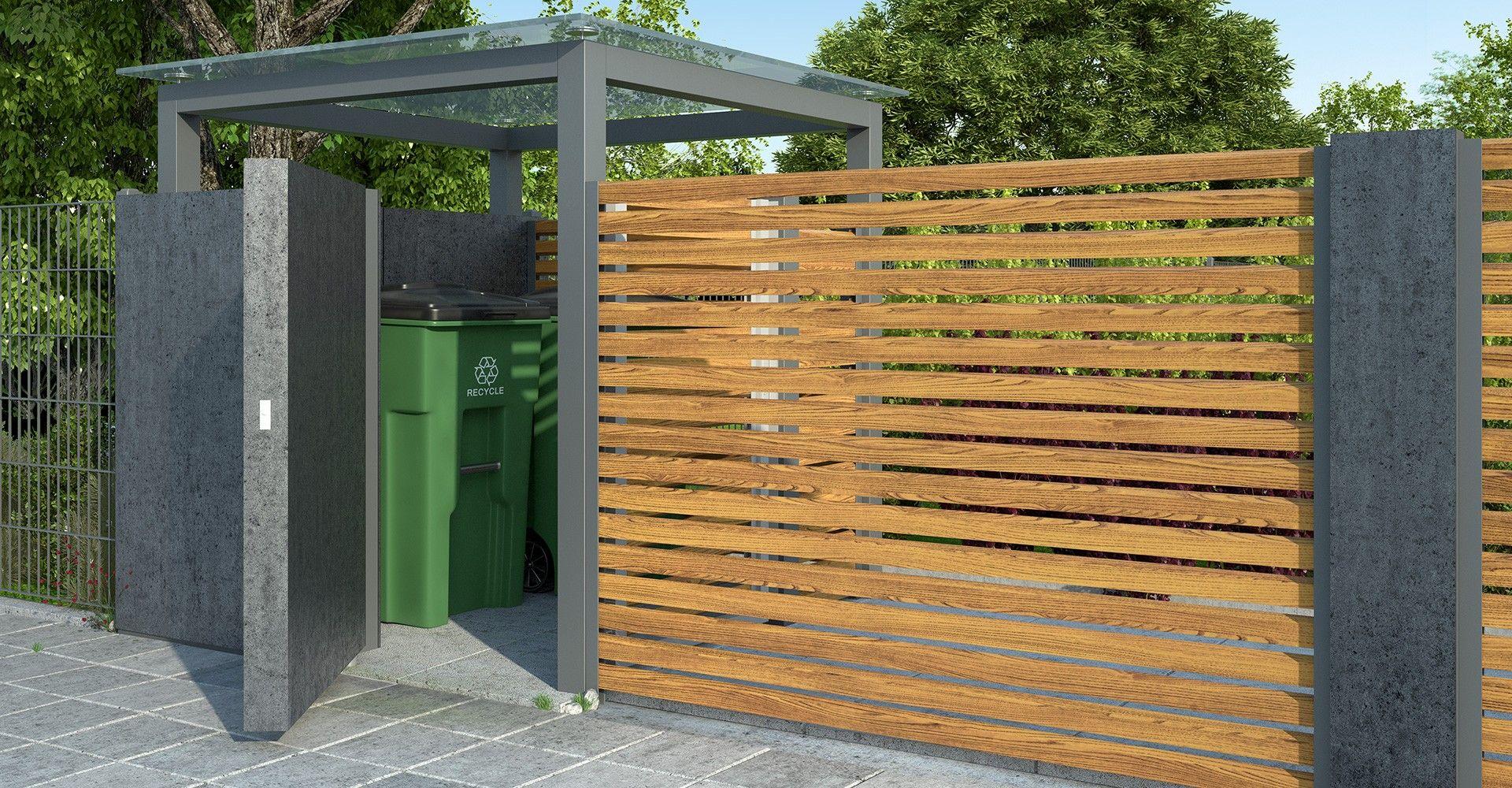 Wspaniały Znalezione obrazy dla zapytania nowoczesne ogrodzenie zadaszenie UW97
