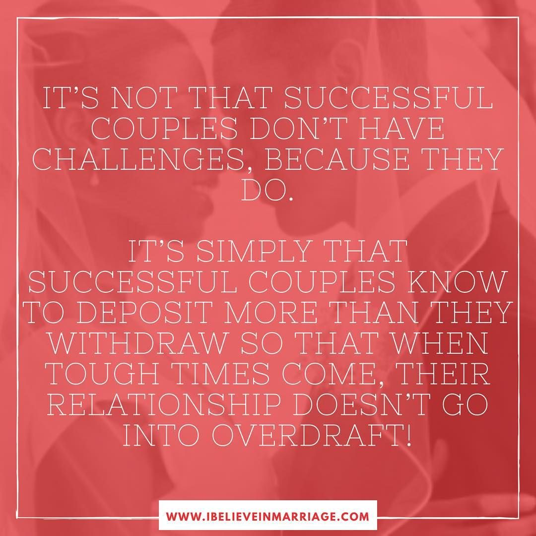 It S Not That Successful Couples Don T Have Challenges