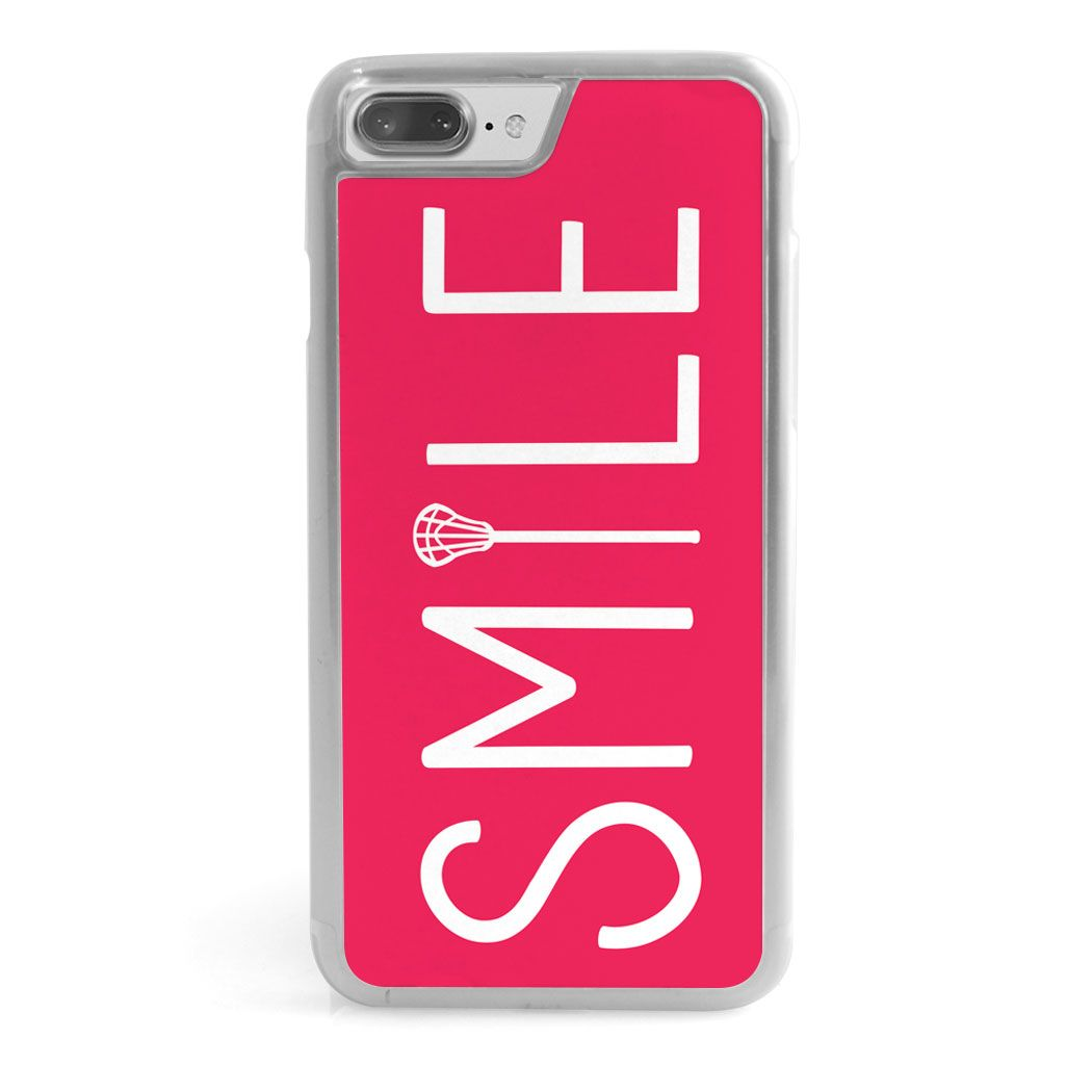 Mädchen Lacrosse iPhone® Hülle – Lax Stick Smile | LuLaLax   – Products