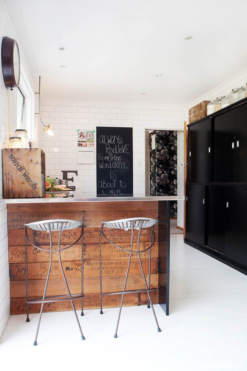 Rennee and Bryan's second incarnation of the kitchen uses