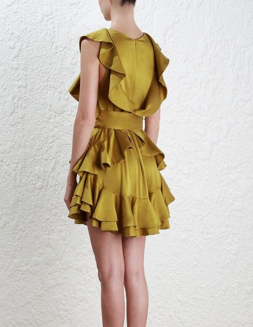 Zimmermann Winsome Flounce Dress. Model Image. | clothes id like to ...
