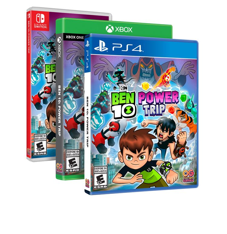 Ben 10 Power Trip Comes To Gaming In October Trailer Gamingnews Power Trip New Video Games Trip