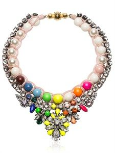 MARIA ZURETA - MARINE NECKLACE - LUISAVIAROMA - LUXURY SHOPPING WORLDWIDE SHIPPING - FLORENCE