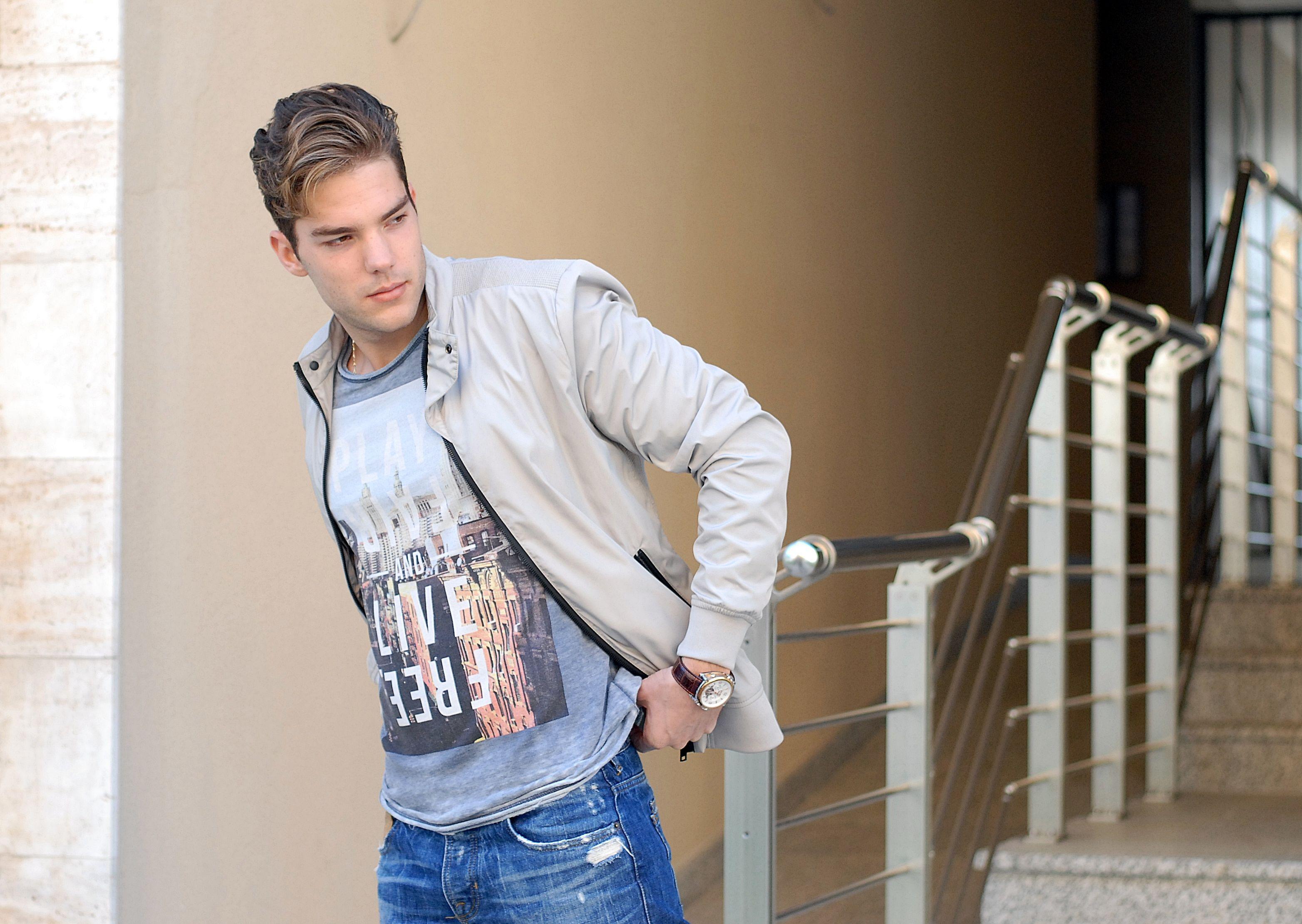 Andjelo Rankovic model and blogger