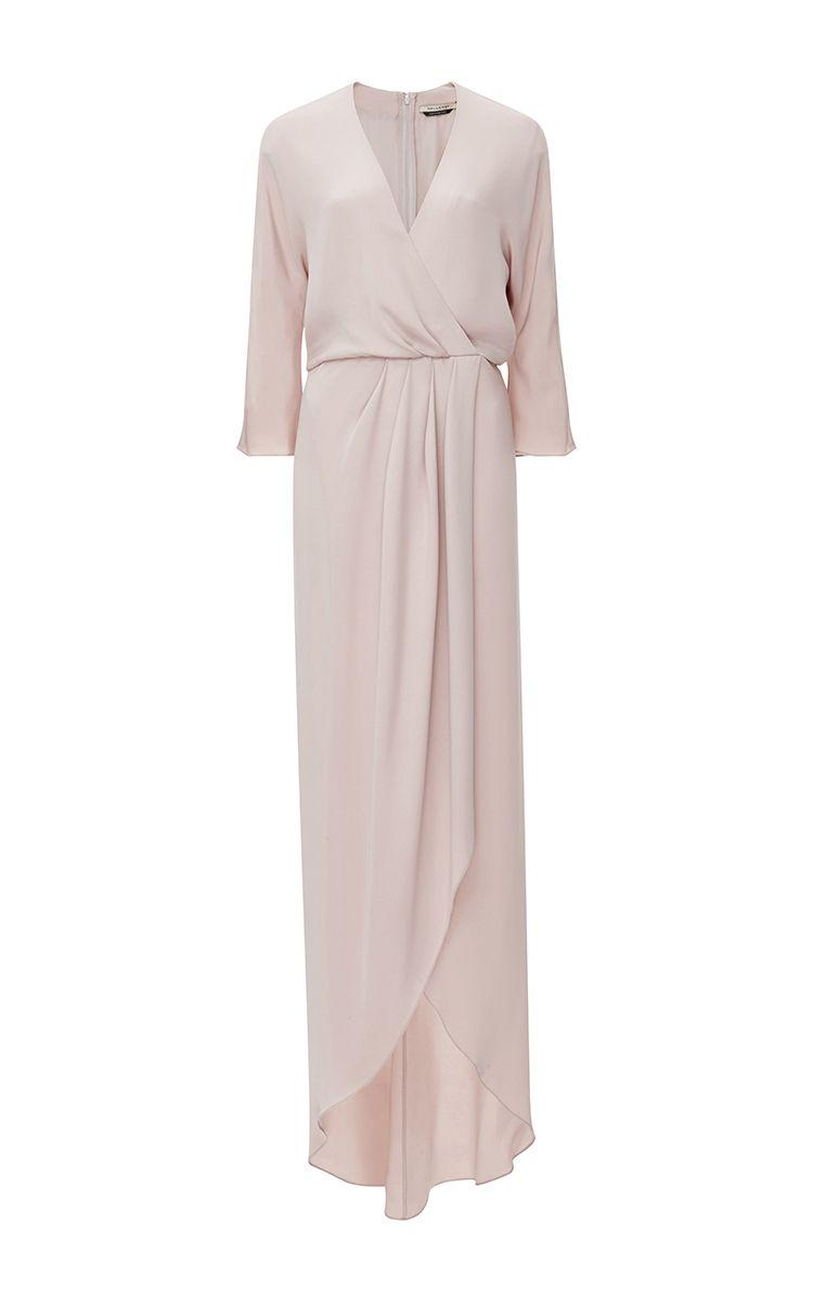 Jenni silk wrap dress by Hellessy
