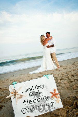 Beach Wedding Signs Photo By Rox Weddings Of Ocean City MD
