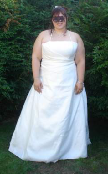 Robe de mariée grande taille 50 52 d'occasion