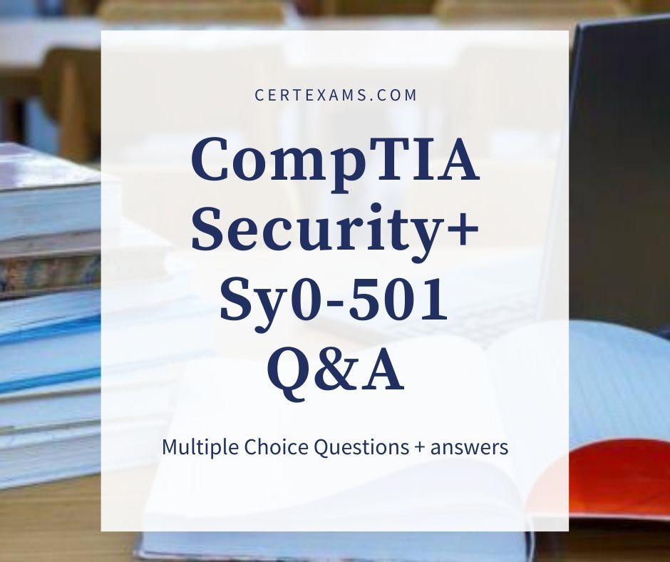 Sample Questions - CompTIA Security+ in 2020 | This or ...